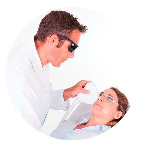 Прибор для лечения сухого глаза LacryStim от бренда Quantel Medical